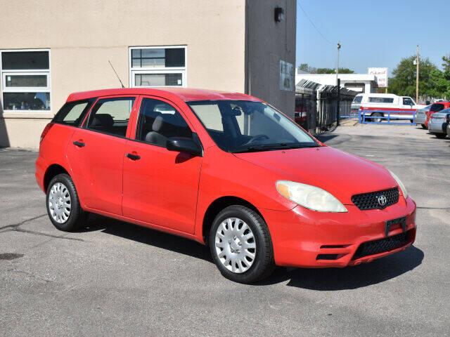 2003 Toyota Matrix for sale at Credit King Auto Sales in Wichita KS