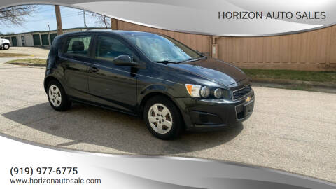 2015 Chevrolet Sonic for sale at Horizon Auto Sales in Raleigh NC