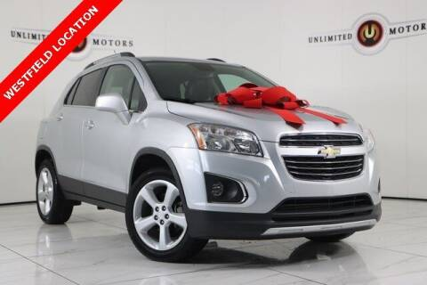 2016 Chevrolet Trax for sale at INDY'S UNLIMITED MOTORS - UNLIMITED MOTORS in Westfield IN