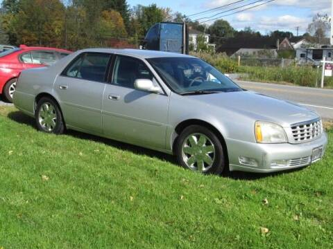 2003 Cadillac DeVille for sale at Saratoga Motors in Gansevoort NY