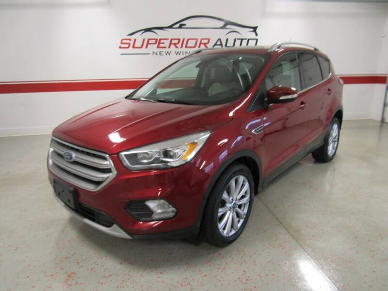 2017 Ford Escape for sale at Superior Auto Sales in New Windsor NY