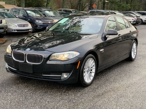 2011 BMW 5 Series for sale at MVP Auto LLC in Alpharetta GA