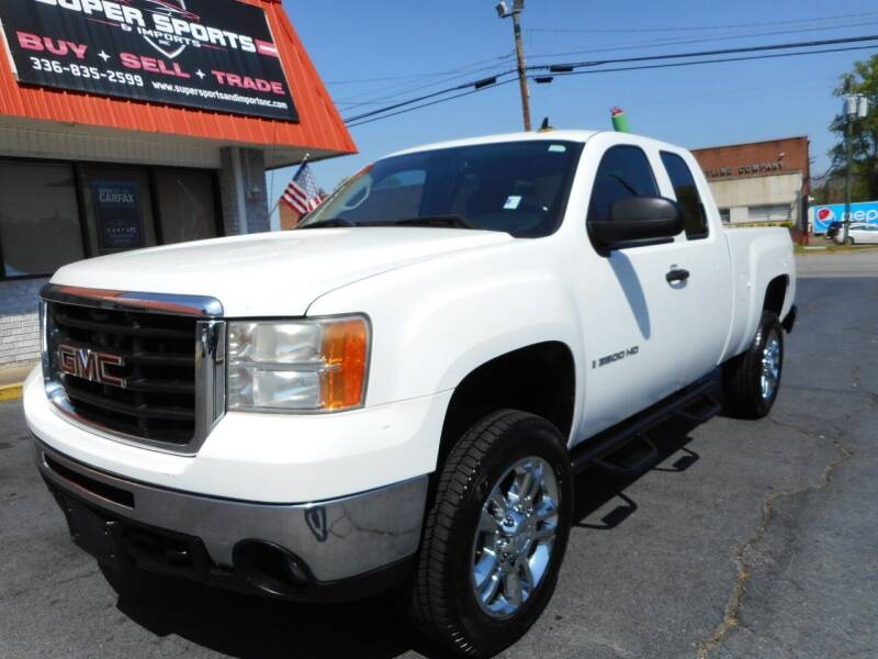 2008 GMC Sierra 2500HD for sale at Super Sports & Imports in Jonesville NC