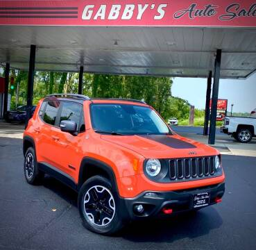 2015 Jeep Renegade for sale at GABBY'S AUTO SALES in Valparaiso IN