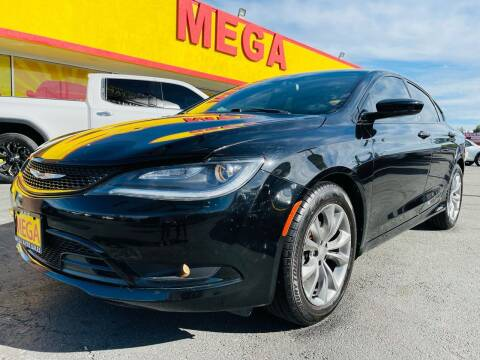 2015 Chrysler 200 for sale at Mega Auto Sales in Wenatchee WA