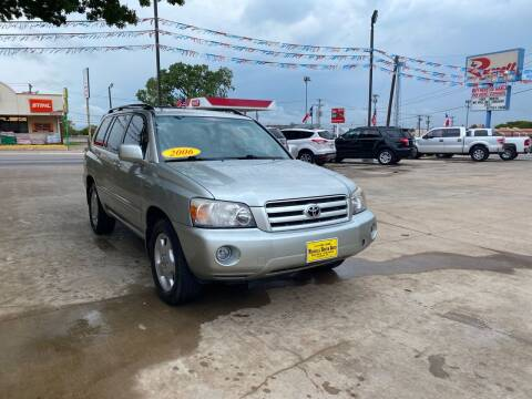 2006 Toyota Highlander for sale at Russell Smith Auto in Fort Worth TX
