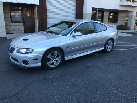 2005 Pontiac GTO for sale at Inland Valley Auto in Upland CA