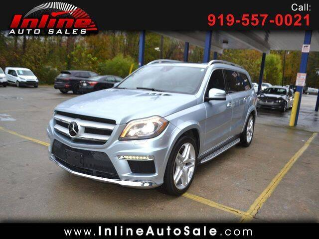 2014 Mercedes-Benz GL-Class for sale at Inline Auto Sales in Fuquay Varina NC