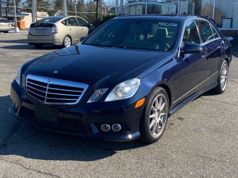 2010 Mercedes-Benz E-Class for sale at MAGIC AUTO SALES in Little Ferry NJ