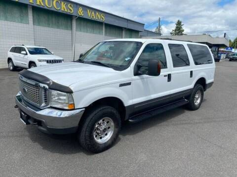 2003 Ford Excursion for sale at TacomaAutoLoans.com in Lakewood WA