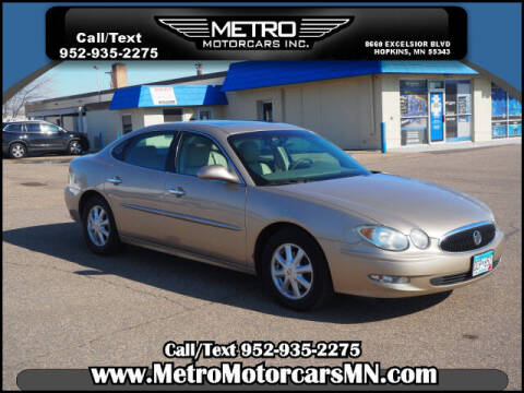 2005 Buick LaCrosse for sale at Metro Motorcars Inc in Hopkins MN
