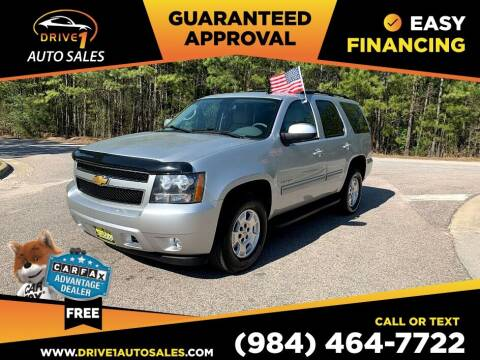 2013 Chevrolet Tahoe for sale at Drive 1 Auto Sales in Wake Forest NC