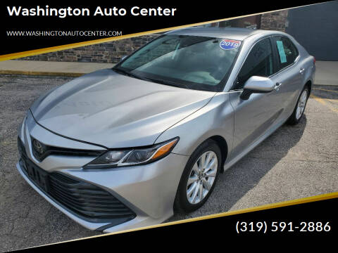 2019 Toyota Camry for sale at Washington Auto Center in Washington IA