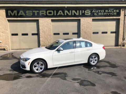 2018 BMW 3 Series for sale at Mastroianni Auto Sales in Palmer MA