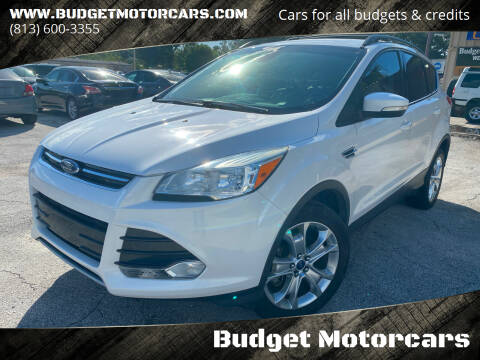 2013 Ford Escape for sale at Budget Motorcars in Tampa FL