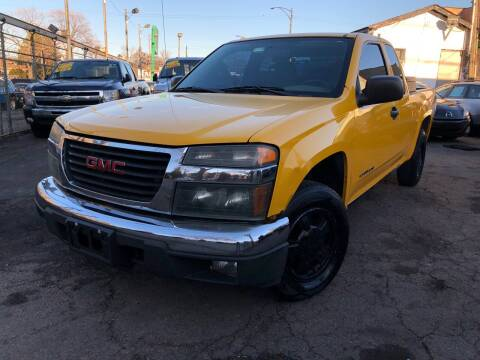 2005 GMC Canyon for sale at Jeff Auto Sales INC in Chicago IL