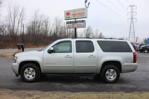 2010 Chevrolet Suburban for sale at D & B Auto Sales LLC in Washington Township MI