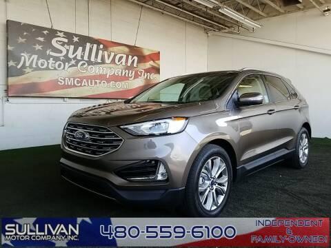 2019 Ford Edge for sale at SULLIVAN MOTOR COMPANY INC. in Mesa AZ