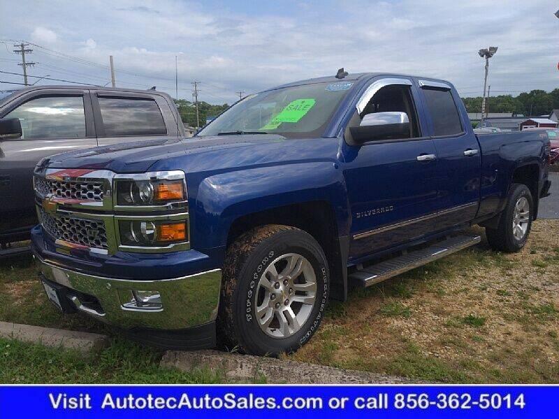 2014 Chevrolet Silverado 1500 for sale at Autotec Auto Sales in Vineland NJ