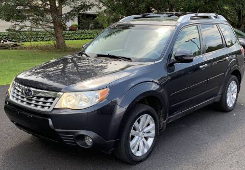 2011 Subaru Forester for sale at Father & Sons Auto Sales in Leeds NY