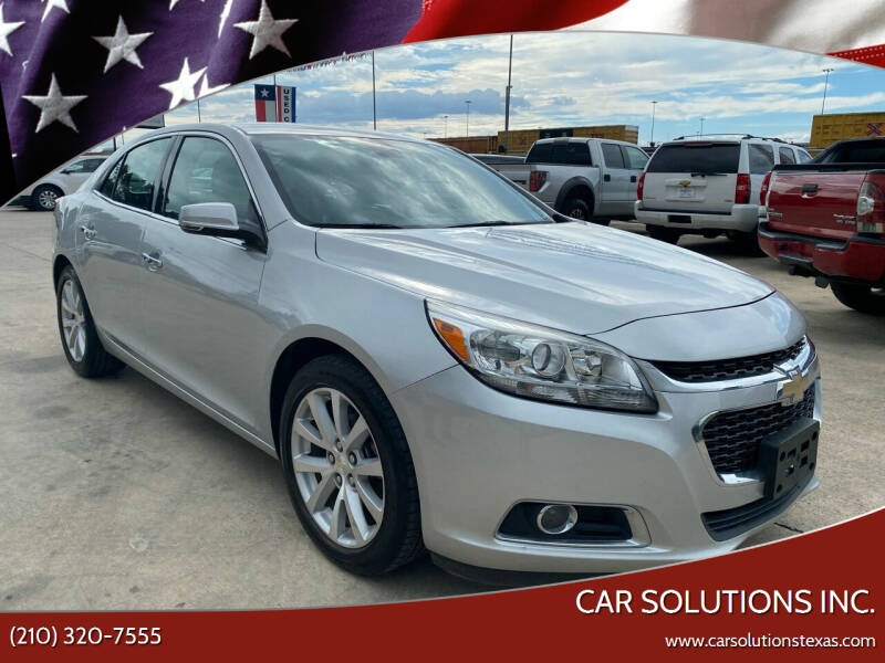2016 Chevrolet Malibu Limited for sale at Car Solutions Inc. in San Antonio TX