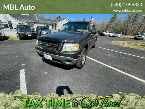2005 Ford Explorer Sport Trac for sale at MBL Auto in Fredericksburg VA