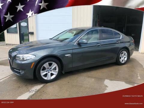 2012 BMW 5 Series for sale at Dussault Auto Sales in Saint Albans VT