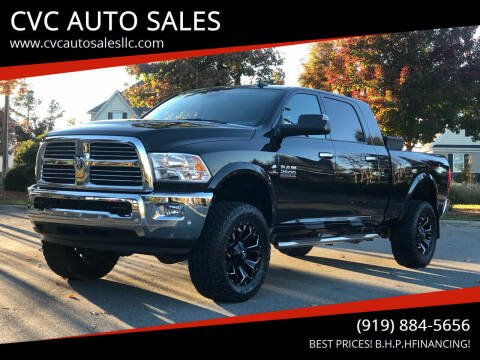 2017 RAM Ram Pickup 2500 for sale at CVC AUTO SALES in Durham NC