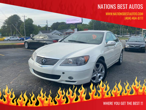 2008 Acura RL for sale at Nations Best Autos in Decatur GA