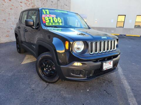 2017 Jeep Renegade for sale at GTR Auto Solutions in Newark NJ