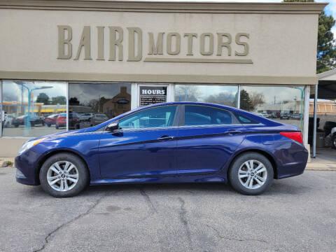 2014 Hyundai Sonata for sale at BAIRD MOTORS in Clearfield UT
