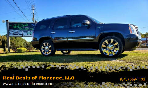 2013 GMC Yukon for sale at Real Deals of Florence, LLC in Effingham SC