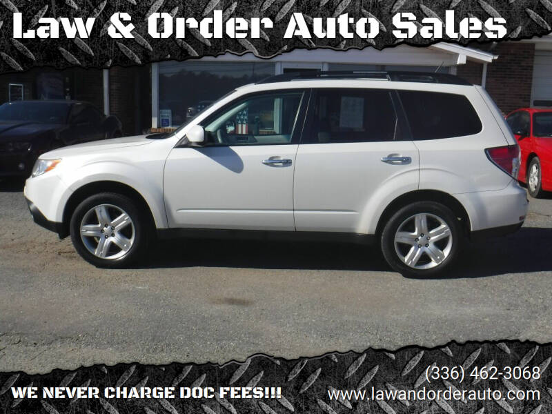 2010 Subaru Forester for sale at Law & Order Auto Sales in Pilot Mountain NC