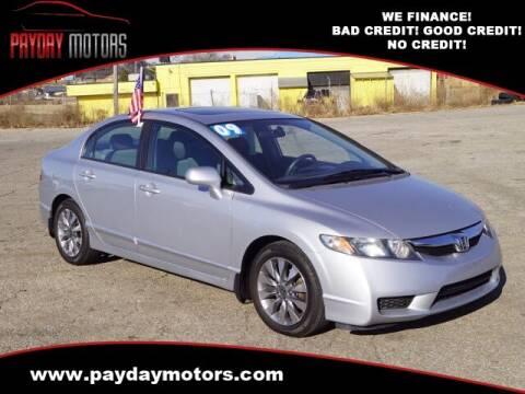 2009 Honda Civic for sale at Payday Motors in Wichita And Topeka KS