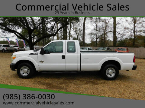 2011 Ford F-250 Super Duty for sale at Commercial Vehicle Sales in Ponchatoula LA