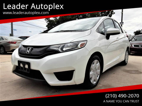 2015 Honda Fit for sale at Leader Autoplex in San Antonio TX