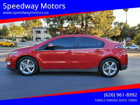 2012 Chevrolet Volt for sale at Speedway Motors in Glendora CA