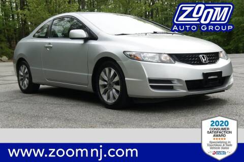2010 Honda Civic for sale at Zoom Auto Group in Parsippany NJ