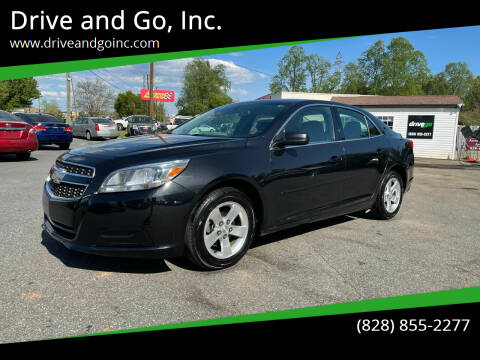 2013 Chevrolet Malibu for sale at Drive and Go, Inc. in Hickory NC