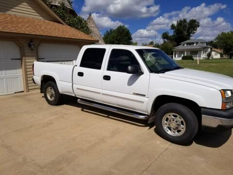 2003 Chevrolet Silverado 1500HD for sale at Eastern Motors in Altus OK