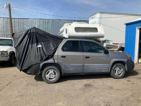 2001 Pontiac Aztek for sale at AFFORDABLY PRICED CARS LLC in Mountain Home ID