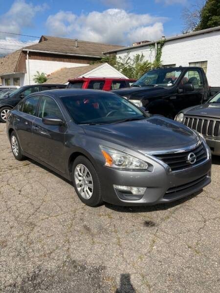 2015 Nissan Altima for sale at ENFIELD STREET AUTO SALES in Enfield CT