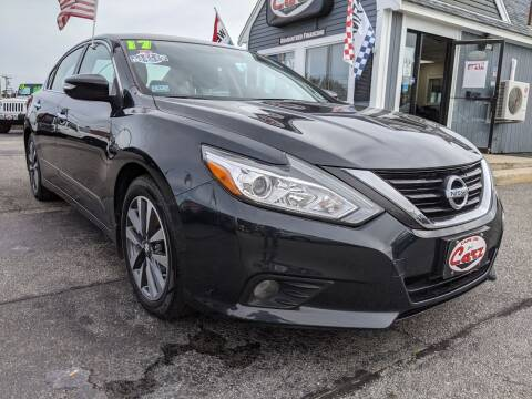 2017 Nissan Altima for sale at Cape Cod Carz in Hyannis MA