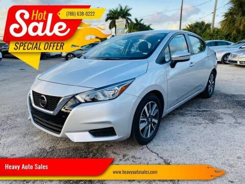 2020 Nissan Versa for sale at Heavy Auto Sales in Miami FL