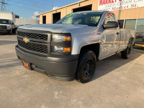 2015 Chevrolet Silverado 1500 for sale at Market Street Auto Sales INC in Houston TX