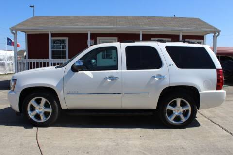 2012 Chevrolet Tahoe for sale at AMT AUTO SALES LLC in Houston TX