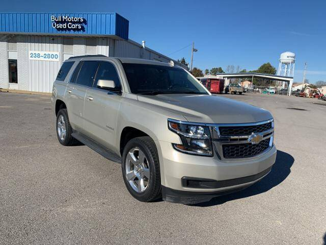 2016 Chevrolet Tahoe for sale at BULL MOTOR COMPANY in Wynne AR