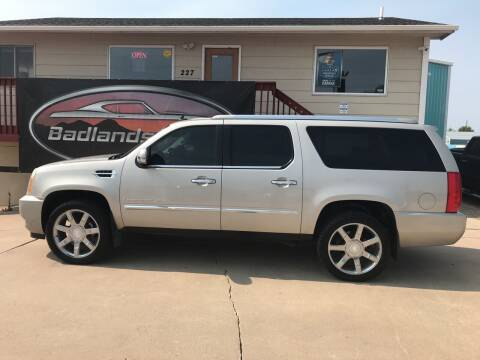 2007 Cadillac Escalade ESV for sale at Badlands Brokers in Rapid City SD