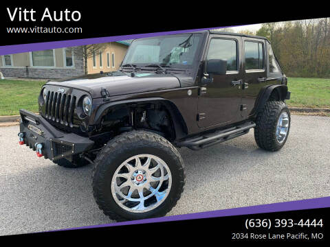 2013 Jeep Wrangler Unlimited for sale at Vitt Auto in Pacific MO