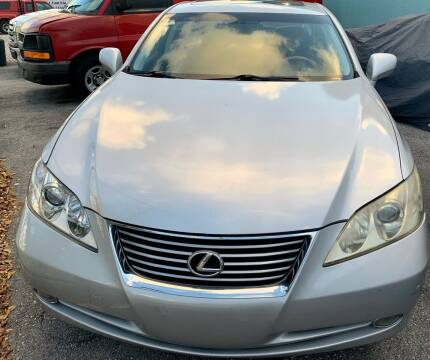 2007 Lexus ES 350 for sale at Naber Auto Trading in Hollywood FL